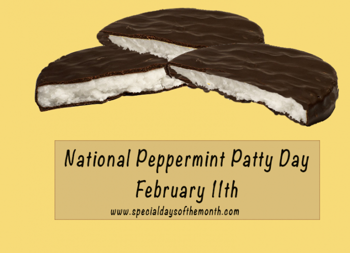 'national peppermint patty day'