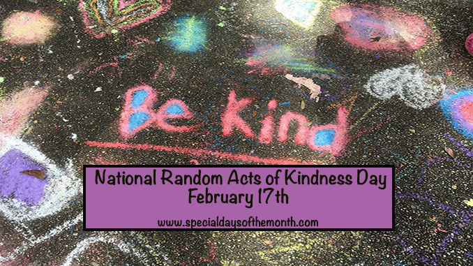 """random act of kindness day"""