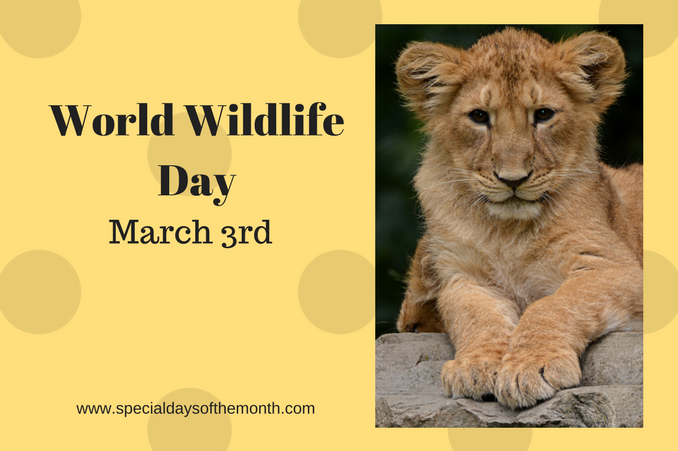 """world wildlife day"""