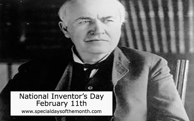 """""""national inventor's day"""""""