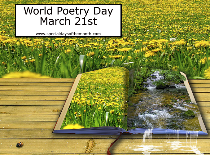 """world poetry day"""