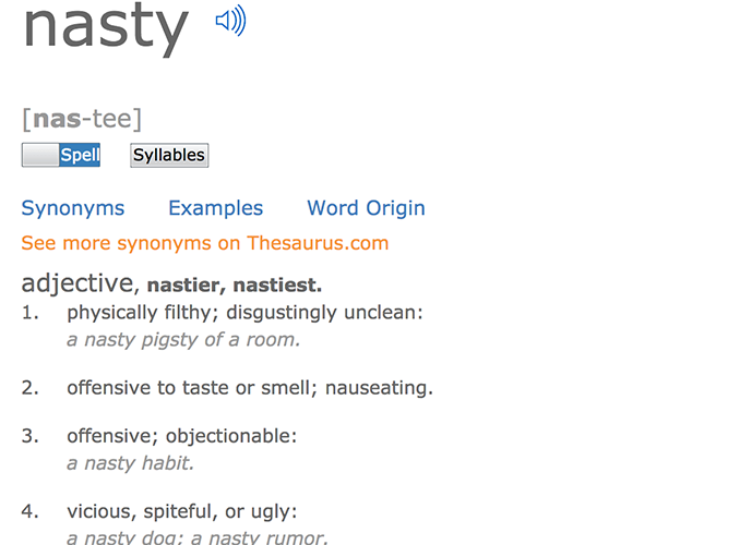 """""""be nasty day - march 8th"""""""