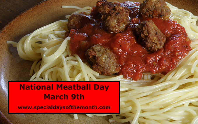 """meatball day - march 9th"""