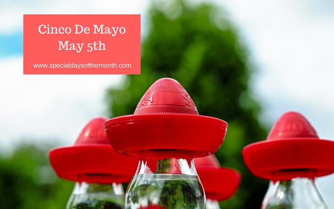 """""""Cinco de Mayo - May 5th"""""""
