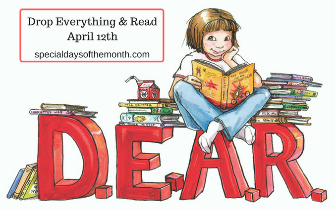 """""""d.e.a.r. - drop everything & read"""""""