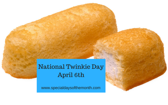 """national twinkie day"""