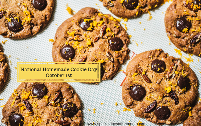 National Homemade Cookies Day October 1st Special Days Of The Month