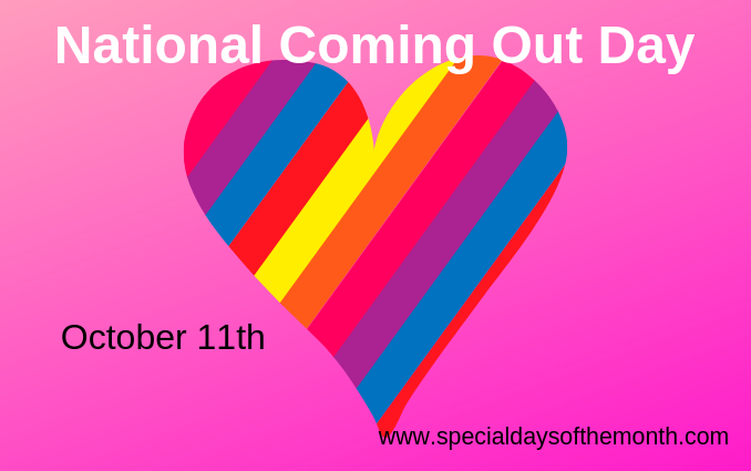 """national coming out day"""