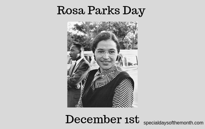 """rosa parks day"""