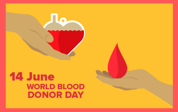 """""""world blood donor day"""""""