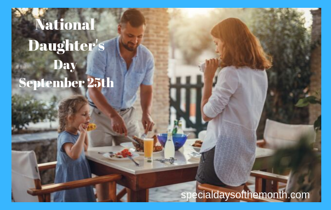 """national daughter's day"""
