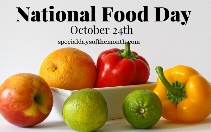 """food day - Oct 24th"""