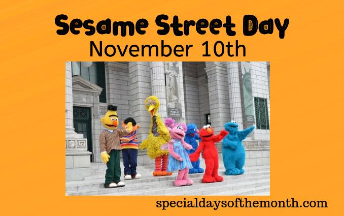 """sesame street day"""