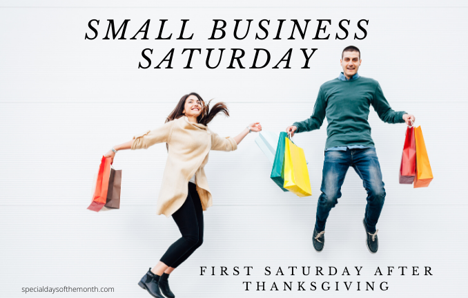 """small business saturday"""