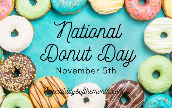 """""""donut day - nov 5"""""""