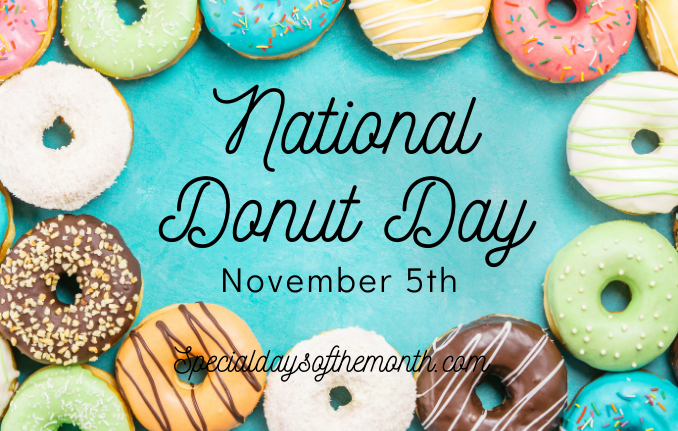 """donut day - nov 5"""