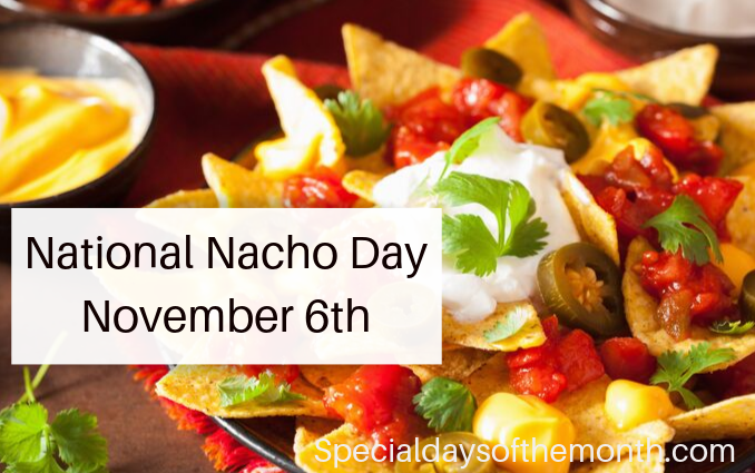 """nacho day"""