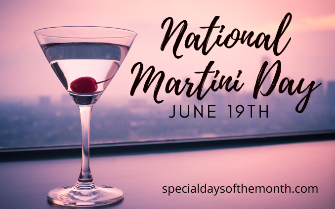 """national martini day"""