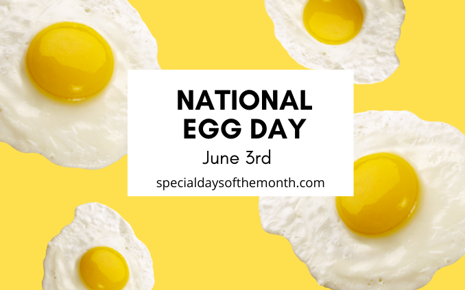 """national egg day"""
