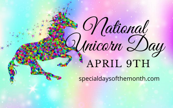 """national unicorn day"""