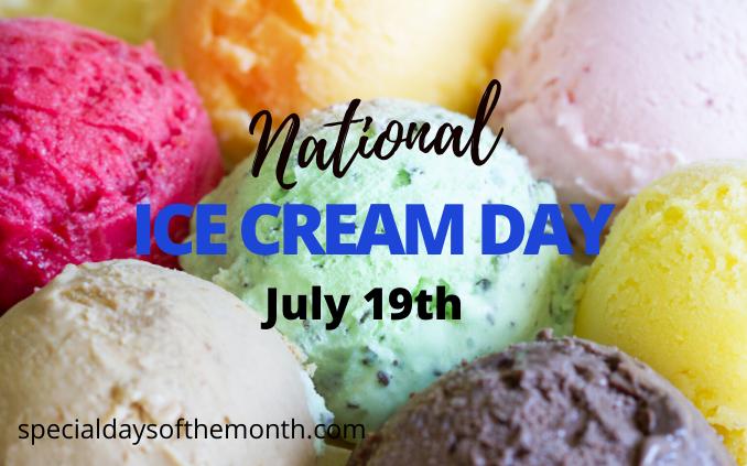 """national ice cream day"""