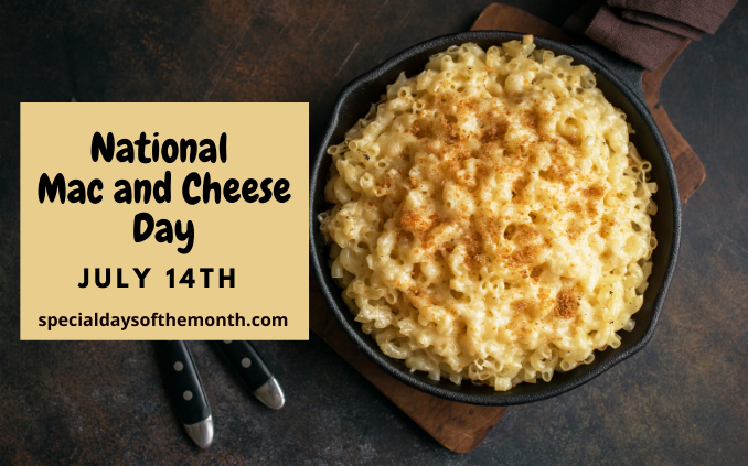 """""""mac and cheese day"""""""