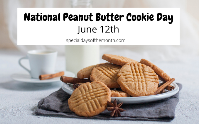 """peanut butter cookie day"""