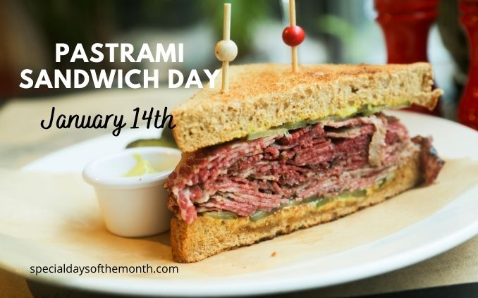 hot pastrami sandwich day